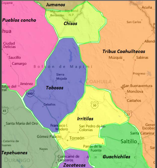Indigenous Coahuila de Zaragoza: Land of the Coahuiltecans